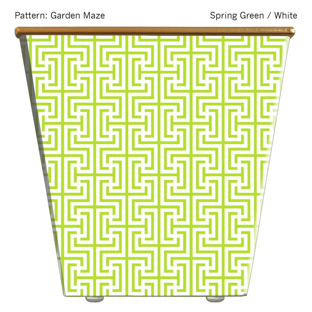 Load image into Gallery viewer, Standard Cachepot Container: Garden Maze