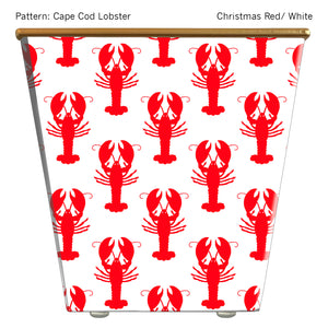 Standard Cachepot Container: Cape Cod Lobster