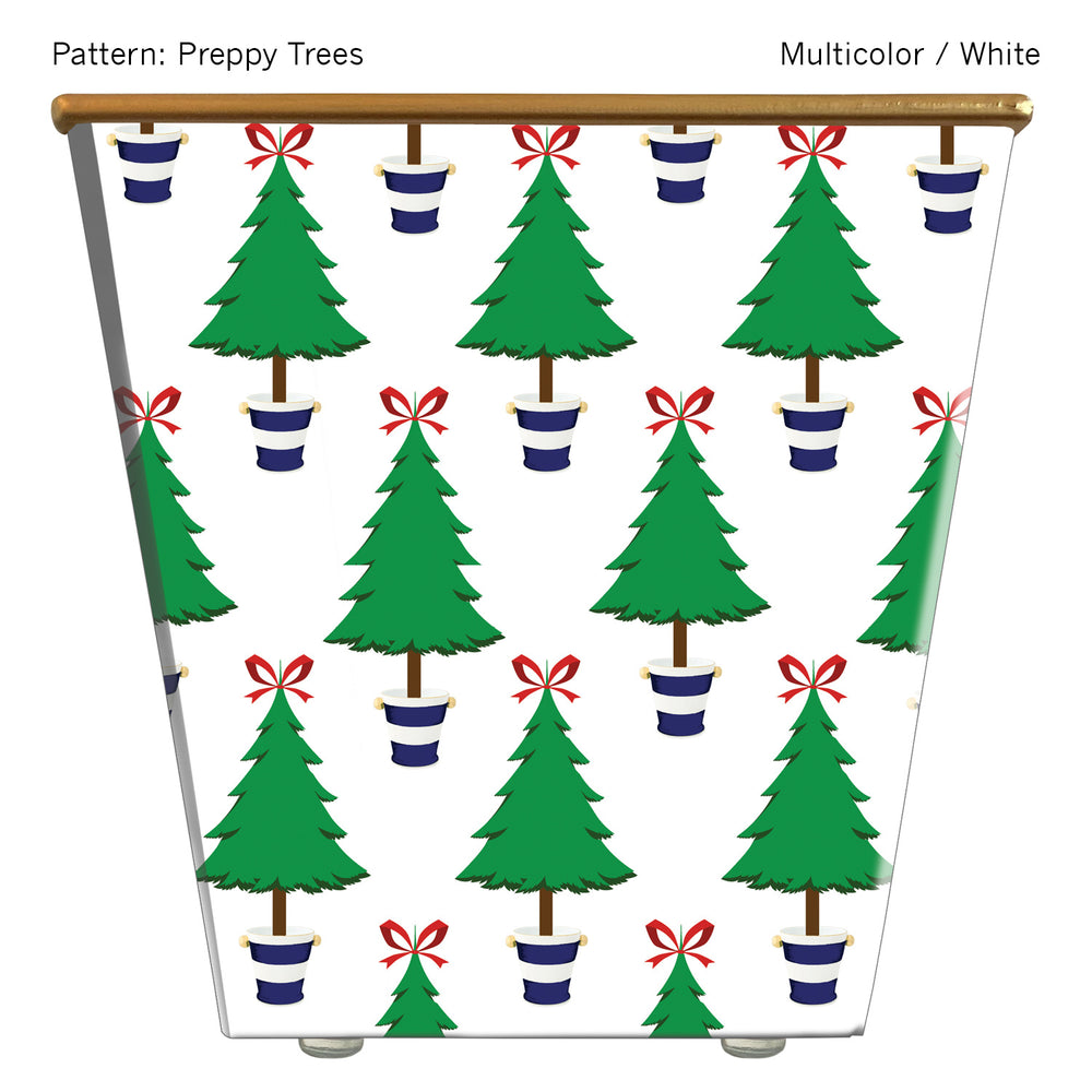 Standard Cachepot Container: Preppy Trees