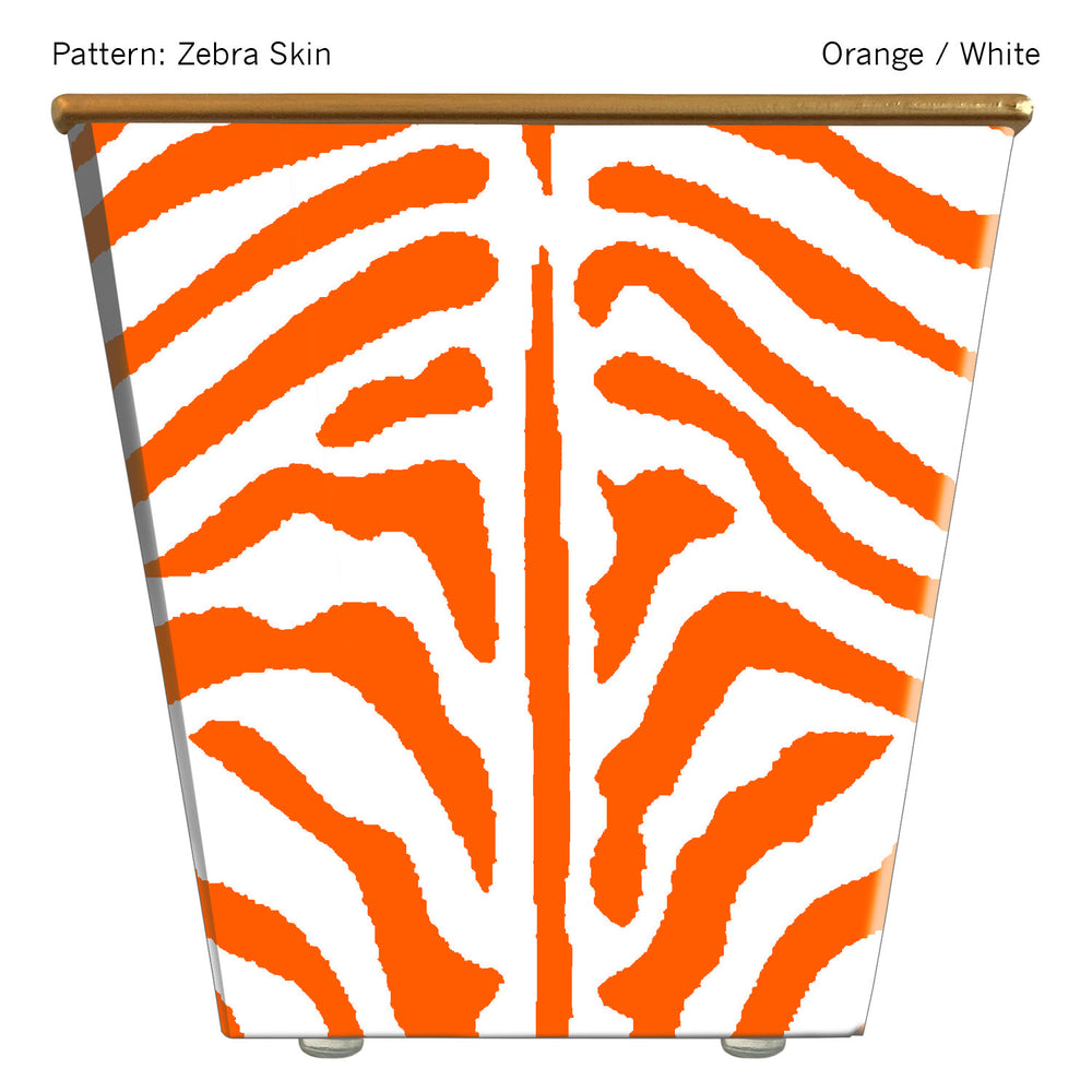 Load image into Gallery viewer, Standard Cachepot Container: Zebra Skin