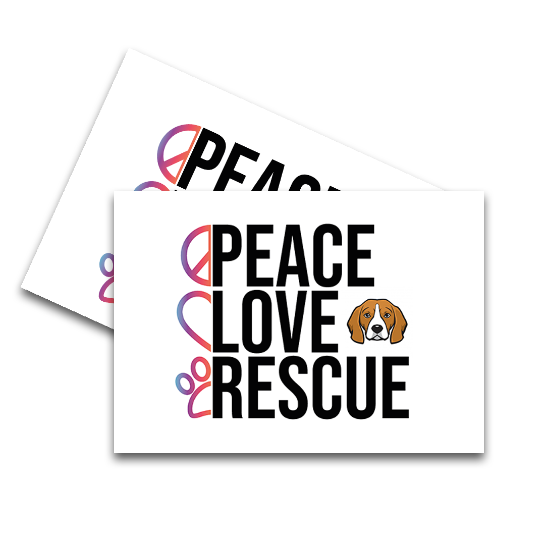 Peace Love Rescue Feeding Mat