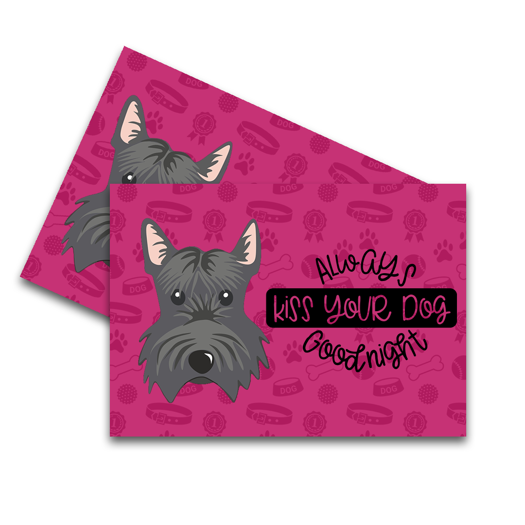 Scottish Terrier Feeding Mat