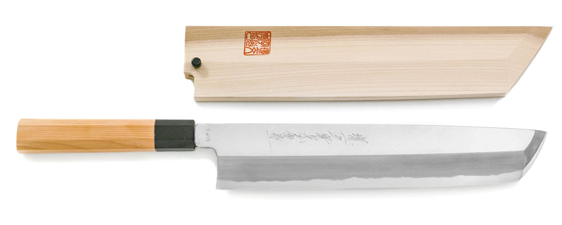 Blue Steel Montanren Hamo Honekiri Knife 270mm