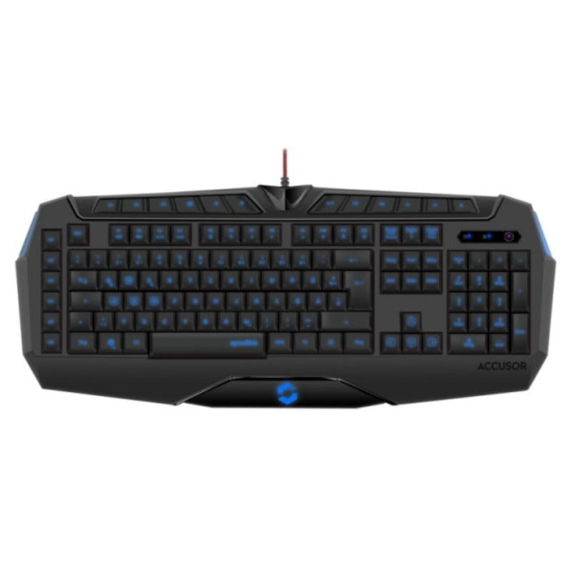 SPEEDLINK ACCUSOR Advanced Bagbelyst Gaming Tastatur. Nordisk.