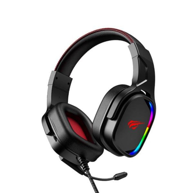 Havit H2022U 7.1 USB 3D Surround RGB Gaming Headphones.