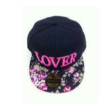 Load image into Gallery viewer, 2014  Hot Lover letter baseball cap Floral Hip Pop Snapback Cap Hat