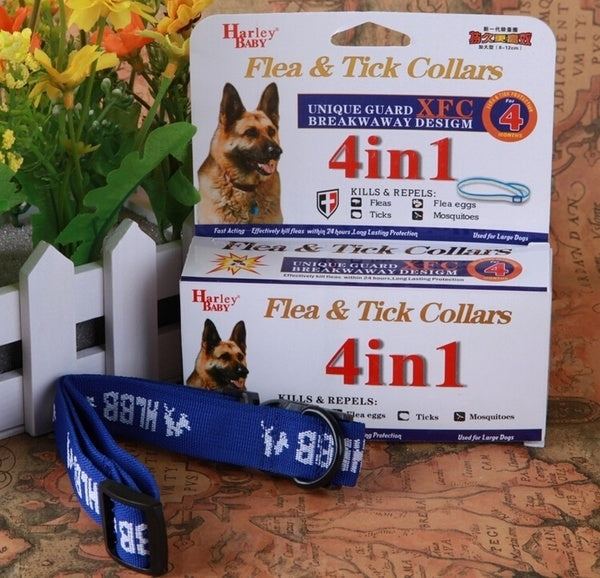 For Large Dogs 4 Month Anti Fleas & Ticks & Mosquitoes Dog Colar