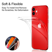 Load image into Gallery viewer, Transparent Silicone Phone Case For Iphone 11 Ultra Thin Clear Back Cover Phone Shell For Iphone 11/11PRO/11 Pro Max/X/XSMAX/8/8PLUS/7/7PLUS/6/6PLUS