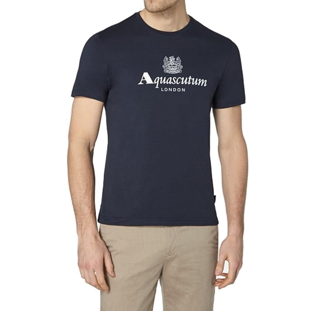 Aquascutum Griffin Logo Tee Mens Short Sleeve Brand T-shirt S-4XL