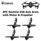 Eachine E58 Spare Parts Combo Propeller & Propeller Cover & Special Bag & USB Cable & Axis Arms with Motor  Propeller