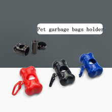 Load image into Gallery viewer, Pet Garbage Bags Holder + 1 Set Dog Poop Bags for Dog Cat