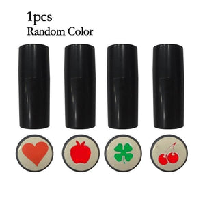 1 PCS Silicone Stamper Seal Stamp Impression Marker Print Gift Award for Golfer