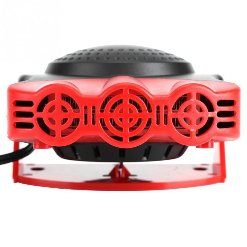 150W 12V 2 In1 Car Truck Heating Cooling Fan Heater Windscreen Demister Defroster