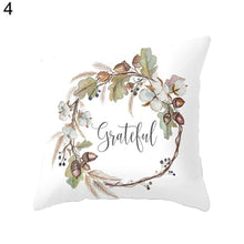 Load image into Gallery viewer, Quality 18inch Watercolor Pumpkin Cushions Cover Halloween Thanksgiving Day Home Decor Car Sofa Throw Pillows Pillowcase