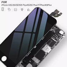 Load image into Gallery viewer, Newest LCD 3D Touch Screen Digitizer for IPhone 4S/5/5C/5S/SE/6/6 Plus/6S/6S Plus/7/7Plus/8/8Plus Mobile Phone LCD Replacement Full Assembly