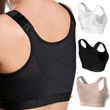 Load image into Gallery viewer, Women Posture Corrector Bra Wireless Back Support LiftUp Yoga Bra Underwear