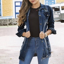 Load image into Gallery viewer, 2019 Women's Coat Loose Slim Denim Jacket Female Wild Plus Size Jacket