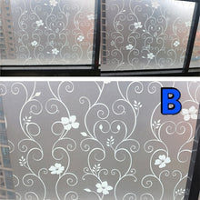 Load image into Gallery viewer, 45*100cm Waterproof Frosted Privacy Bathroom Window   Glass Film Stickers PVC Self-adhesive Film Home Decor