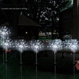 2019 New Garden Garden Solar Firework Light String Light Outdoor Patio Pathway Decor Christmas Gift (2/1pcs)