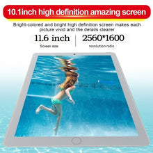 Load image into Gallery viewer, WiFi Tablet PC 2560*1600 IPS Screen 11.6 Inch Ten Core 6G+128G Android 8.1 Dual SIM Dual Camera Rear 13.0MP IPS New