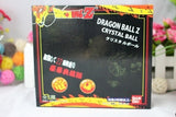 7pcs/set 3.5CM Dragon Ball Z 7 Stars Crystal Balls DragonBall Ball Complete Set New in box retail/Wholesale