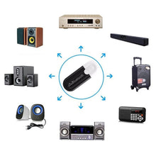 Load image into Gallery viewer, 2 in 1 Stereo Bluetooth 5.0 Audio Receiver Transmitter Mini 3.5mm AUX Bluetooth Transmitter Wireless Adapter For TV PC Car