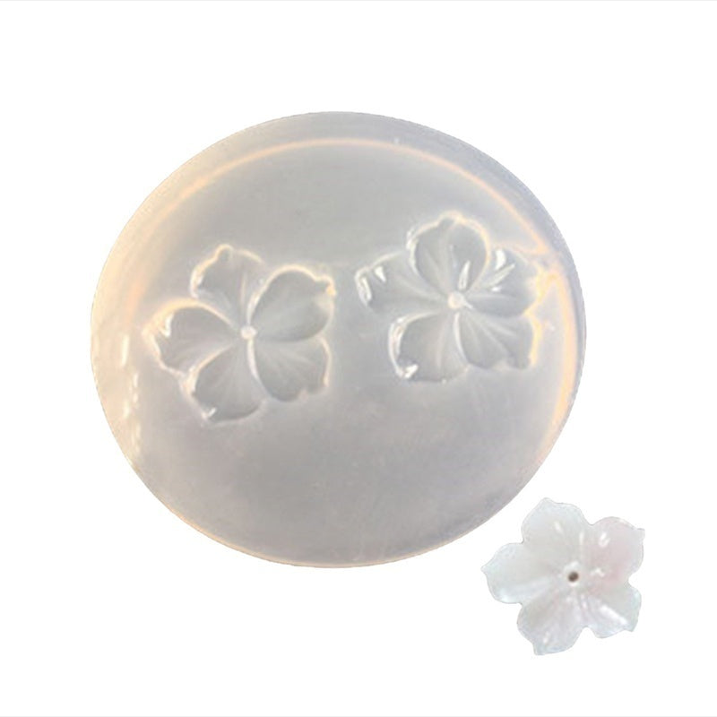 1Pcs 3D Flower Epoxy Resin Mold Handmade Jewelry Pendant Making Mold Diy Silicone Mould Resin Decoration Craft