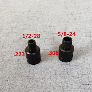 Aluminum Ruger 1022 Ruger 10/22 1/2-28 5/8-24 Muzzle Brake Thread Adapter .223 .308