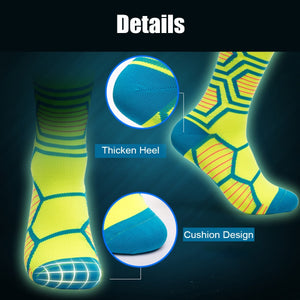 4 Colors Breathable Compression Socks Below Knee Anti-friction Stocking Cycling Sports
