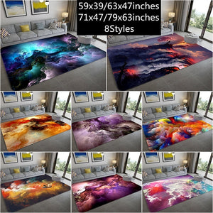 large carpet Soft Rugs Anti-Skid Area Rug Dining Room Home Bedroom Carpet Floor Mat 8styles