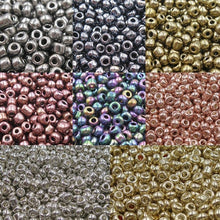 Load image into Gallery viewer, 300-1500pcs/lot 2/3/4mm Crystal Glass Spacer Beads Czech Seed Beads For Earring Necklace Bracelet Jewelry Handmade DIY