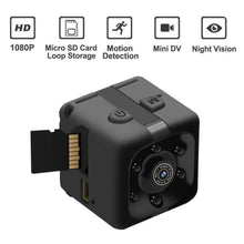 Load image into Gallery viewer, SQ11 HD 480/1080P  Mini Camera Camcorder Car DVR Infrared Video Recorder Sport Digital Camera Support TF Card DV Camera