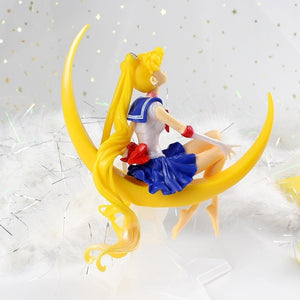 15cm Cartoon Sailor Moon PVC Action Figure Collection Model Toy Doll Anime Collection Kid Gift Toy