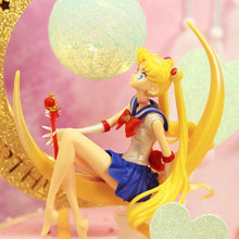 Load image into Gallery viewer, 15cm Cartoon Sailor Moon PVC Action Figure Collection Model Toy Doll Anime Collection Kid Gift Toy