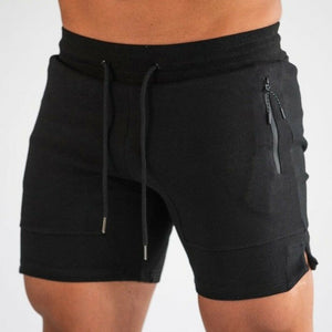 Men Fashion Casual Sport Shorts Fitness Training Running Solid Color Jogging Pants Trousers Short Pants