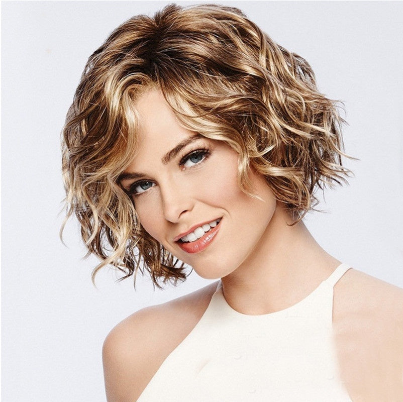 New Fashion Full Wig Brazilian Full Human Hair Curly Wigs Glueless Front Wigs Long Wigs Cosplay Wigs