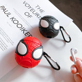 1 Pcs Cartoon Heroes Protective Case for Airpods Bluetooth Headset Silicone Case (Note: No Headphones, No Hard Shell)
