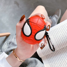 Load image into Gallery viewer, 1 Pcs Cartoon Heroes Protective Case for Airpods Bluetooth Headset Silicone Case (Note: No Headphones, No Hard Shell)