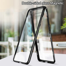 Load image into Gallery viewer, Luxury High Quality Magnet Double-sided Tempered Glass Maglev Adsorption Shell Suitable for S8 S8plus S9 S9plus S10 S10plus S10e S10-5G Note8 Note9 A7/9/30/50/60/70