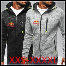 Load image into Gallery viewer, Spring New Fashion Men's Hoodie Slim Men's Casual Zipper Printed Jacket