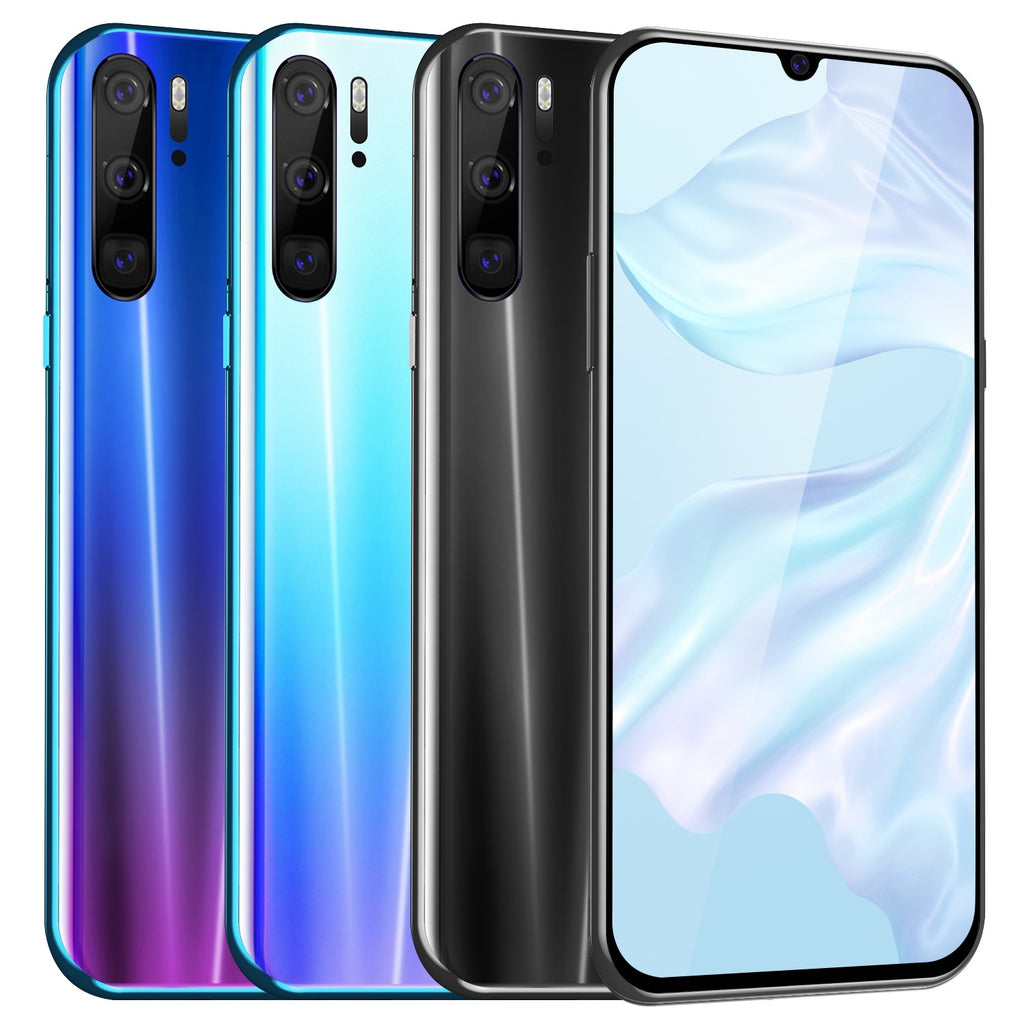2019 Latest 6.3 Inch waterdrop Full Screen Mobilephone MTK6797 10 Core Dual Sim Bluetooth Wifi Camera GPS 4G Android Phones