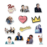 25/50 pcs/set riverdale stickers for laptop skateboard home decoration car styling vinyl decals doodle cool diy stickers