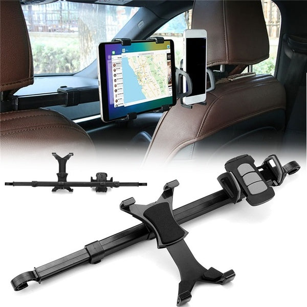 360¡ã Dual Seat Car Back Seat Headrest Mount Holder for iPad Holder Mount for Pad Rotating Auto Headrest Car Phone