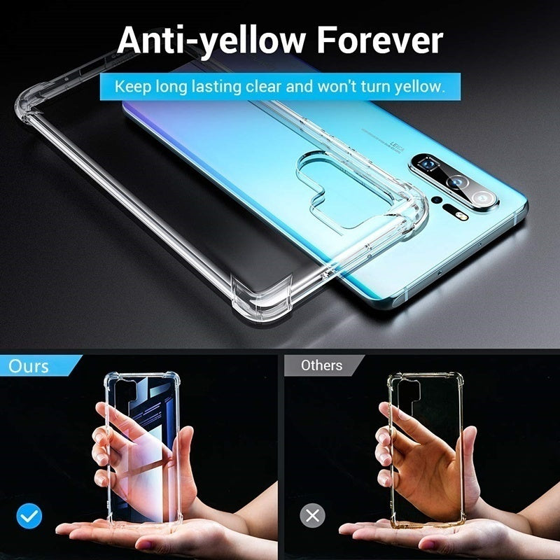 Air Cushion Luxury Clear Hybrid Phone Case For Case For L G  K30 K50 K40 2019 W30 W10 Stylo 5 4 V50S V50 V40 ThinQ  Q60 Q9 X2 2019 X Power 3 2  Venture  Cover Protective Shockproof Shell