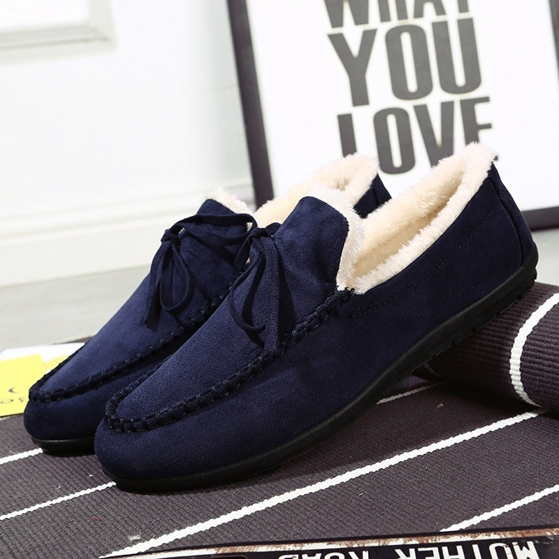 Mens House Slippers Memory Foam Loafers for Men Indoor Outdoor Slip on House Shoes