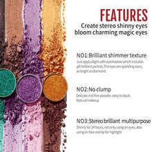Load image into Gallery viewer, 45 color flash diamond eye shadow laser powder
