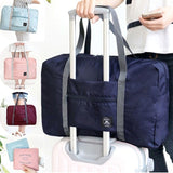 New Fashion Large Folding Waterproof Luggage Storage Bags Suitcase Travel Pouch Handbag Shoulder Bag Organizer tote Bag Outdoor