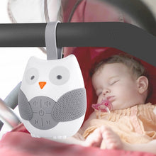 Load image into Gallery viewer, Owl White Noise Machine Baby Soother Sleep Helper Sound Machine