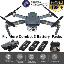 Load image into Gallery viewer, Eachine E58 WIFI FPV Folding Drone with Wide Angle HD Camera High Hold Mode Foldable Arm RC Quadcopter Drone with Storage Bag