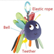 Load image into Gallery viewer, 7Styles Baby Kids Rattle Toys Cartoon Animal Plush Hand Bell Newborn Baby Stroller Crib Hanging Rattles  Baby Infant Toys